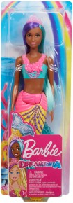Barbie papusa sirena colier si coronita roz