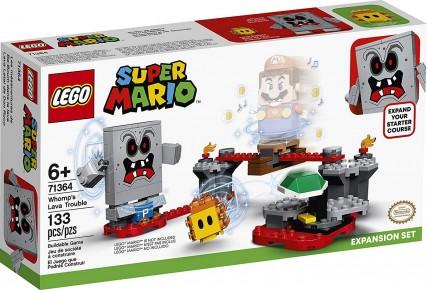 Lego Super Mario Set de extindere pericolul lavei lui Whomp  71364
