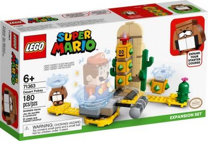 Lego Super Mario Set de extindere Pokey in desert 71363