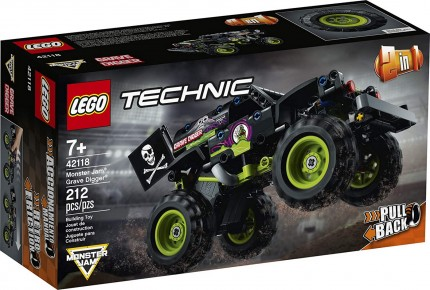 Lego Technic Monster Grave Digger 42118