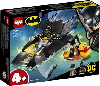 Lego Super Heroes Urmarirea pinguinului cu Batboat 76158