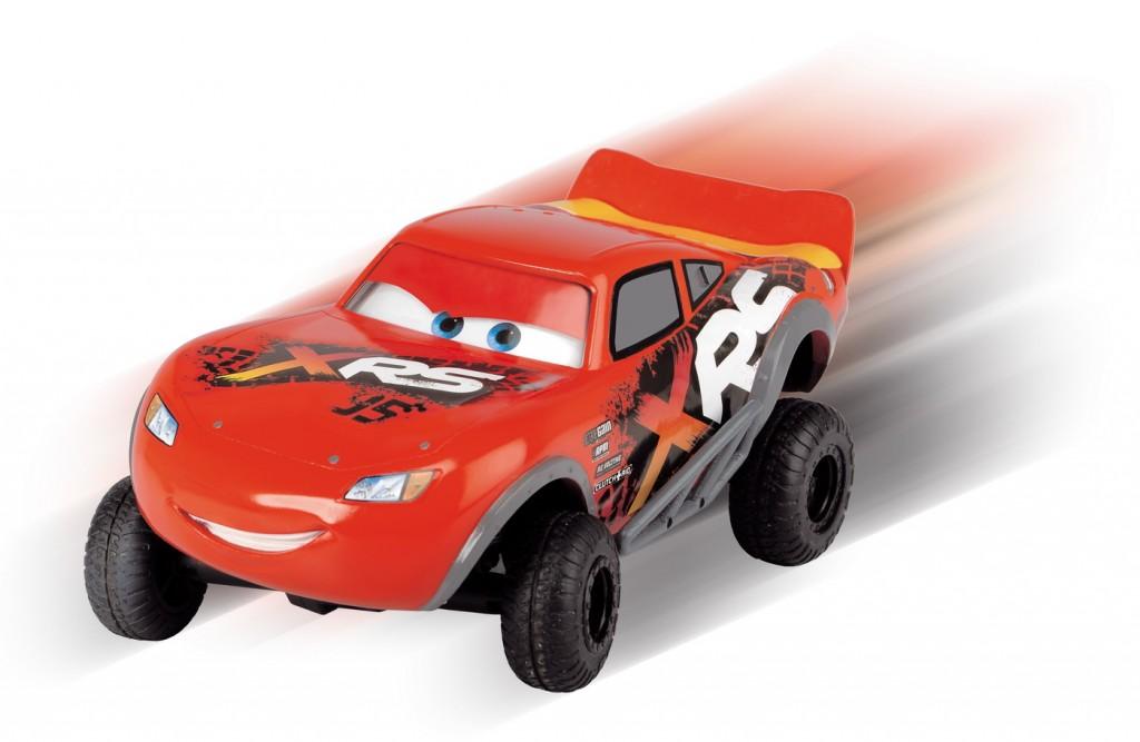 Masinuta radiocomandata Cars Fulger Mcqueen XRS