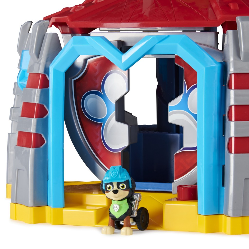 Patrula Catelusilor Turnul de control Dino cu vehicul si catelus exclusiv Rex