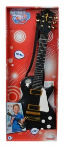 Chitara rock My music world 53 cm neagra