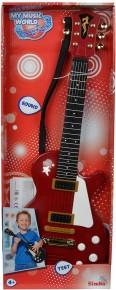Chitara rock My music world 53 cm rosie