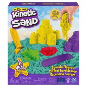 Kinetic Sand Set de joaca marin cu nisip si forme