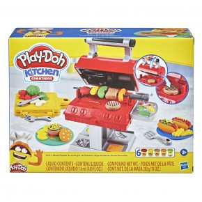Play Doh Set Gratar cu forme si stampile