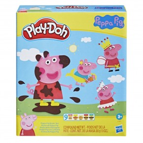 Play Doh Set Peppa Pig Plastilina cu accesorii