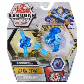 Bakugan S2 Bila Ultra Tretorous cu echipament Baku-gear