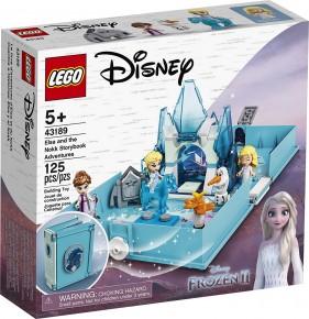 Lego Disney Princess Aventuri din cartea de povesti cu Elsa si Nokk 43189
