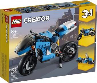Lego Creator Supermotocicleta 31114