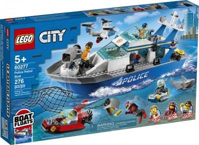 Lego City Nava de patrulare a politiei 60277
