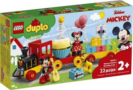 Lego Duplo Trenul zilei aniversare Mickey si Minnie 10941