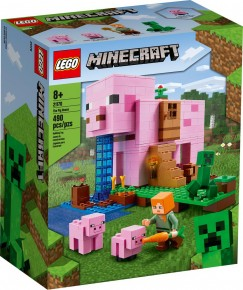 Lego Minecraft Casa purcelusilor 21170