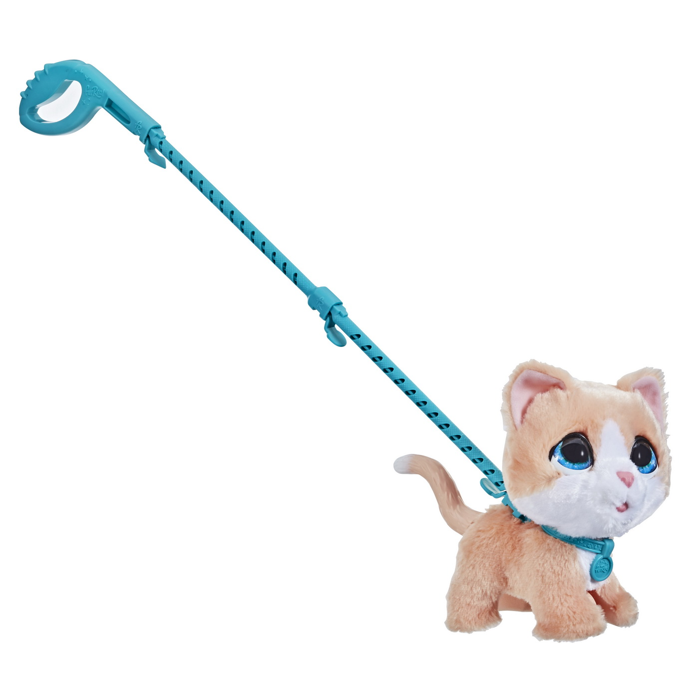 Furreal cu pisicuta la plimbare