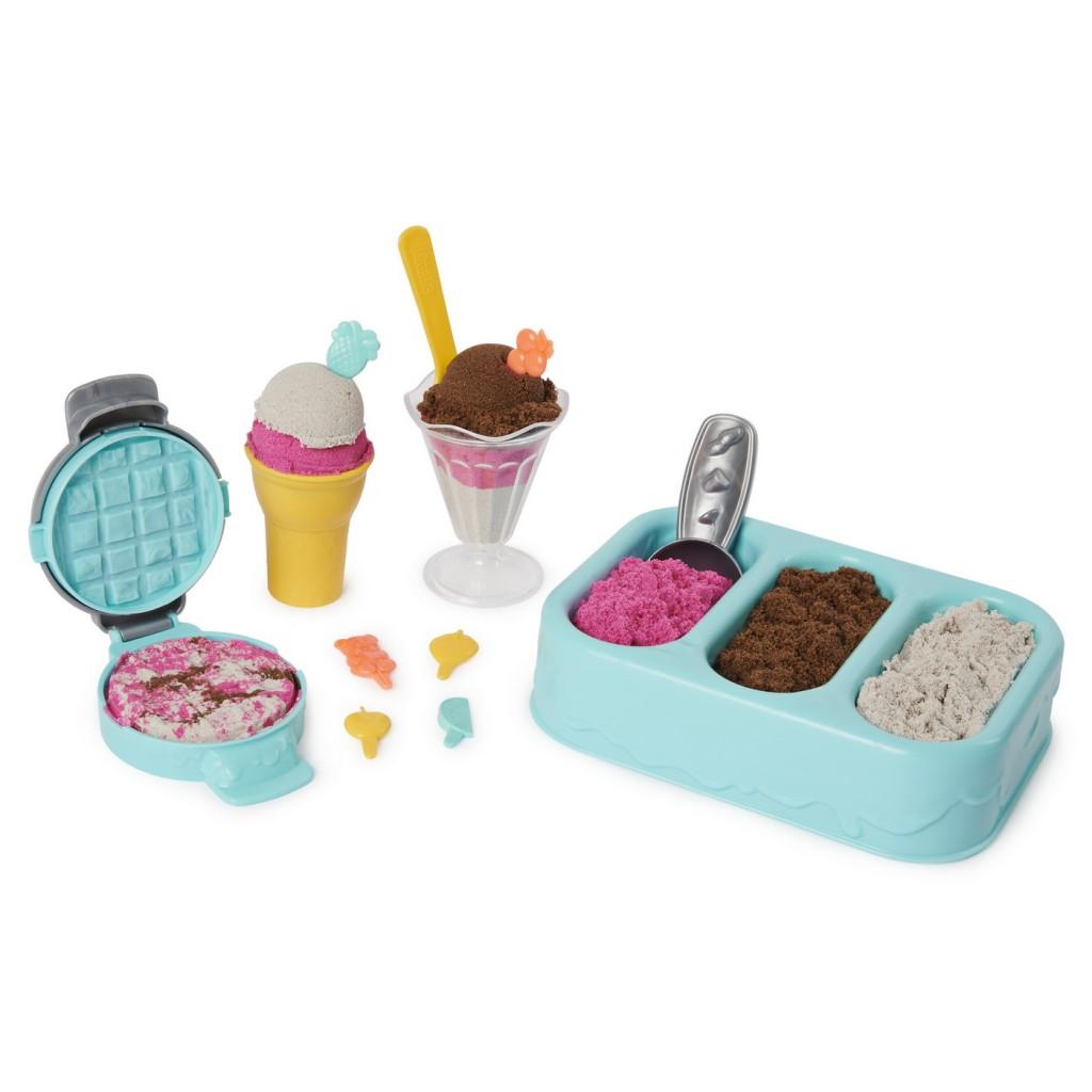 Kinetic Sand Inghetata si prajiturelele colorate si parfumate