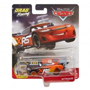 Cars XRS Masinuta metalica de curse personajul Nitroade
