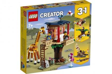 Lego Creator Casuta in copac cu animale salbatice 31116