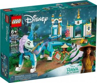 Lego Disney Raya si Dragonul Sisu 43184