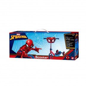 Trotineta 3 roti Spiderman