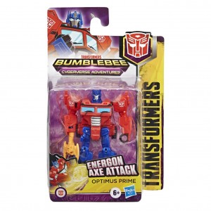 Tranformers Robot Optimus Prime Seria Energon Axe Attack