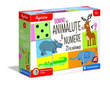 Agerino domino animalute numere