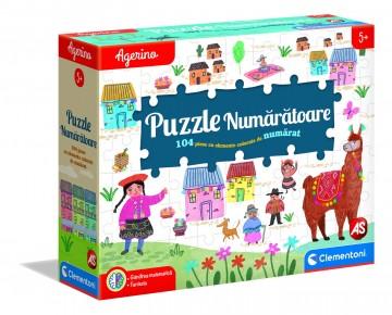 Agerino puzzle numaratoare