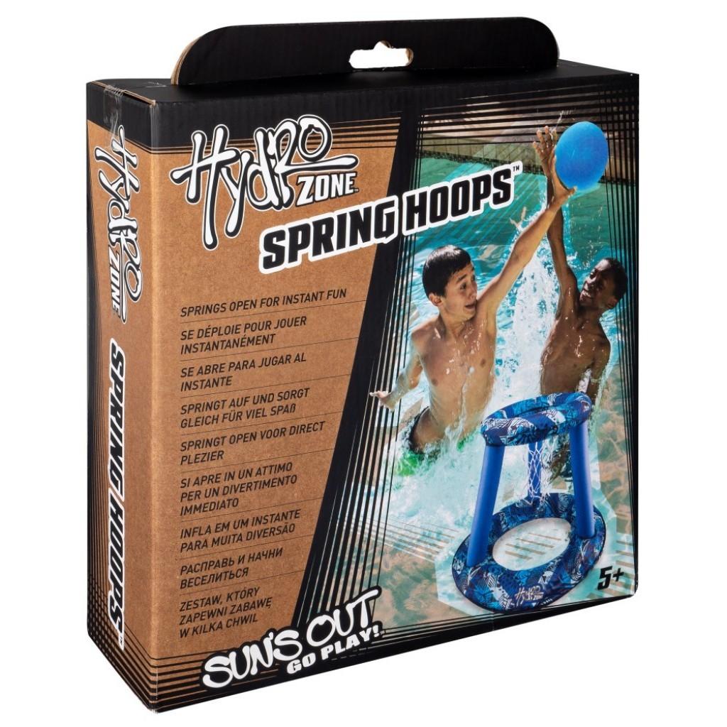 Cos de basket acvatic cu minge inclusa Swimways