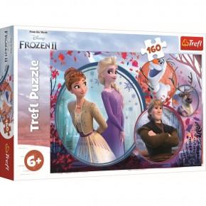 Puzzle universul Frozen trefl 160