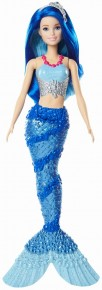 Barbie papusa Dreamtopia sirena albastra